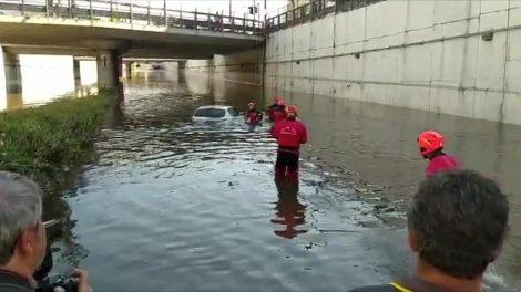 Nubifragio Palermo, recuperata auto in sottopasso allagato, è vuota - https://t.co/nRIkfZ8kWg #blogsicilianotizie