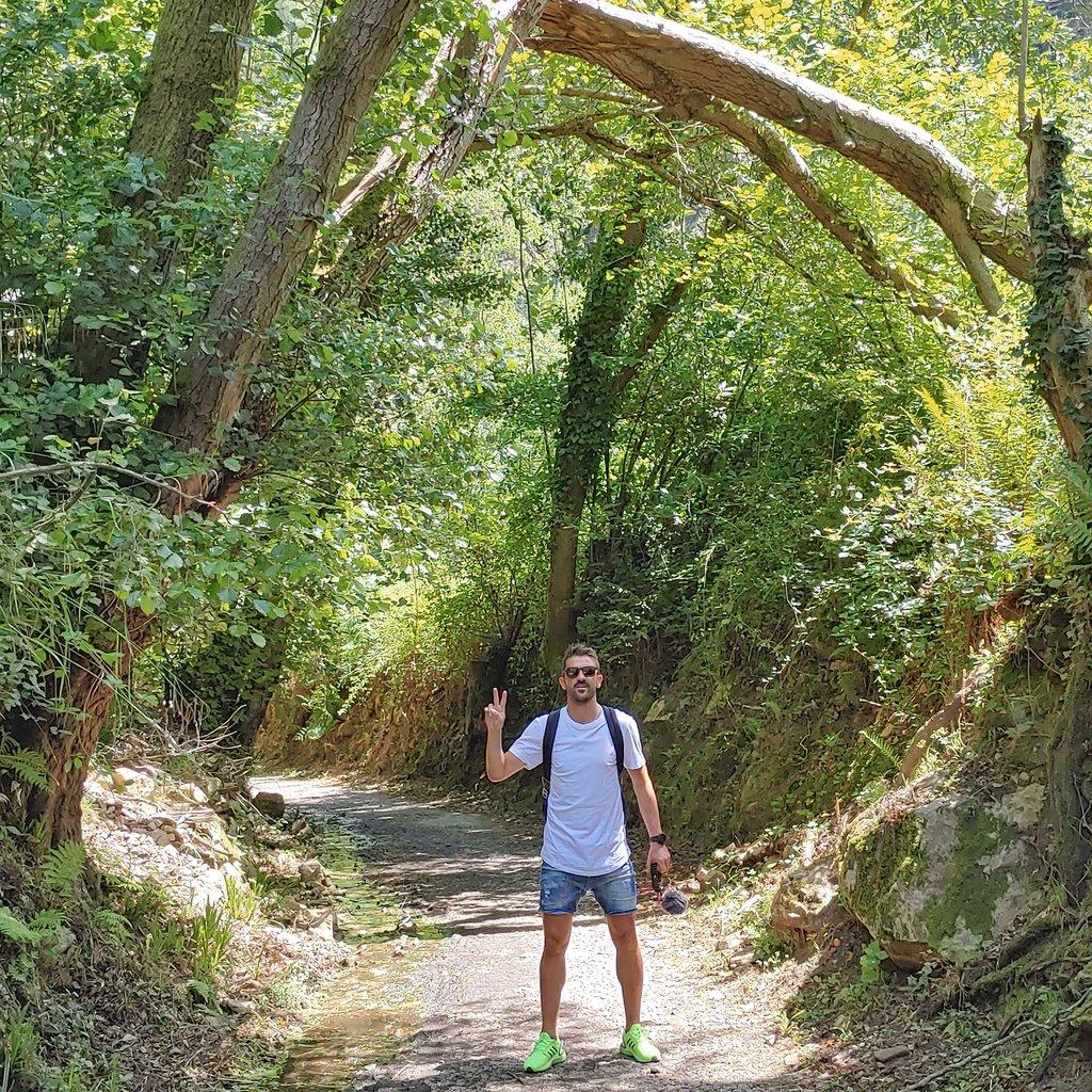 💙💛😎🐻🏞🌳✌🚶 #sendadeloso #proaza #asturiasparaisonatural #veranoenasturias