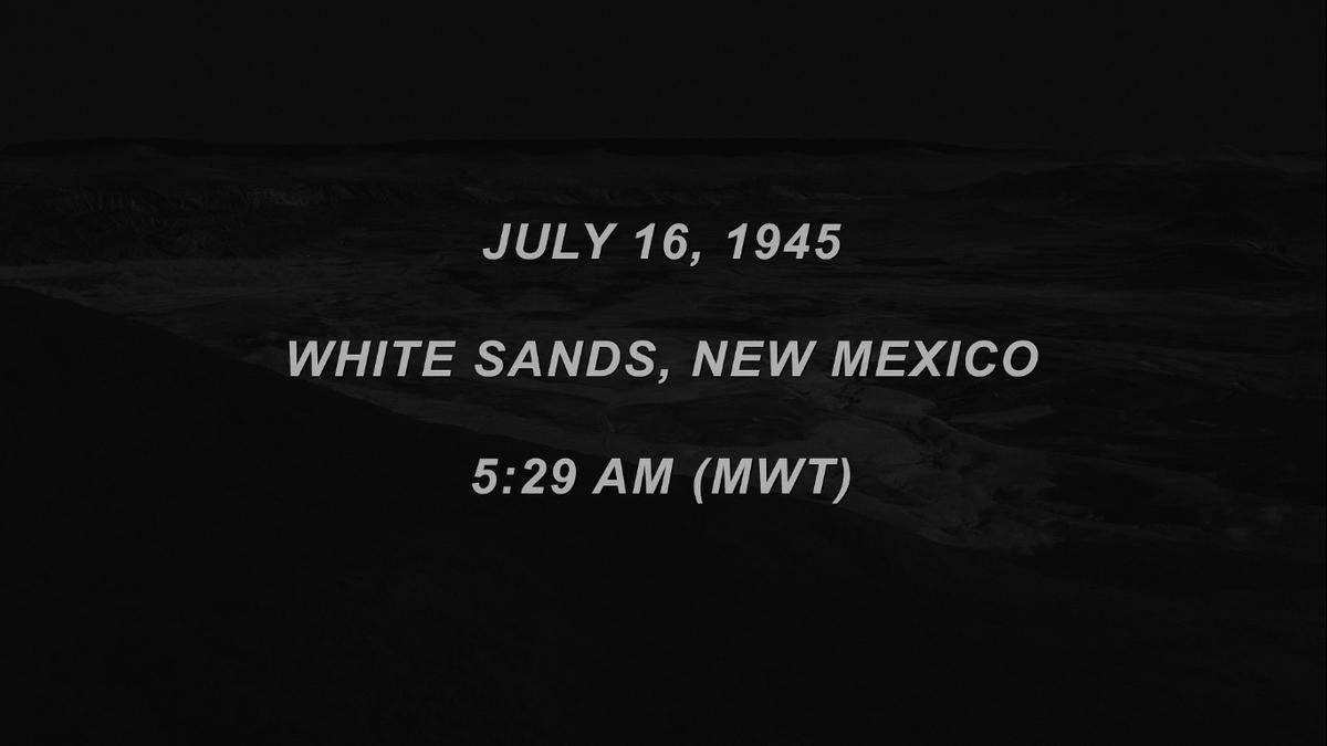 Un 16 de julio de 1945, a las 8:29 am hora de Argentina (5:29 am MWT o MST/S actual), serían la fecha y hora que resonarían en nuestras vidas y la de los habitantes de #TwinPeaks por años y años #DavidLynch @DAVID_LYNCH #MarkFrost @mfrost11