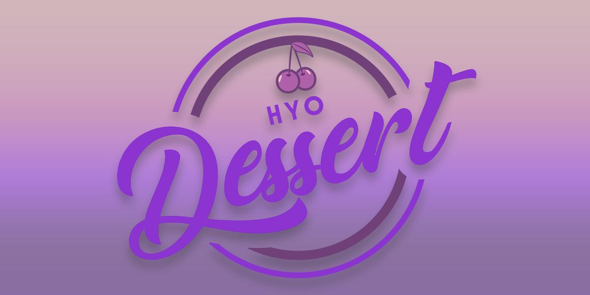 I was bored earlier so I tried to make bakery logos for #Dessert lol   Stream Dessert on July 22 @ 6pm KST!  #HYOisComing #DESSERT  #HYO_Dessert <br>http://pic.twitter.com/10arO4QdfX