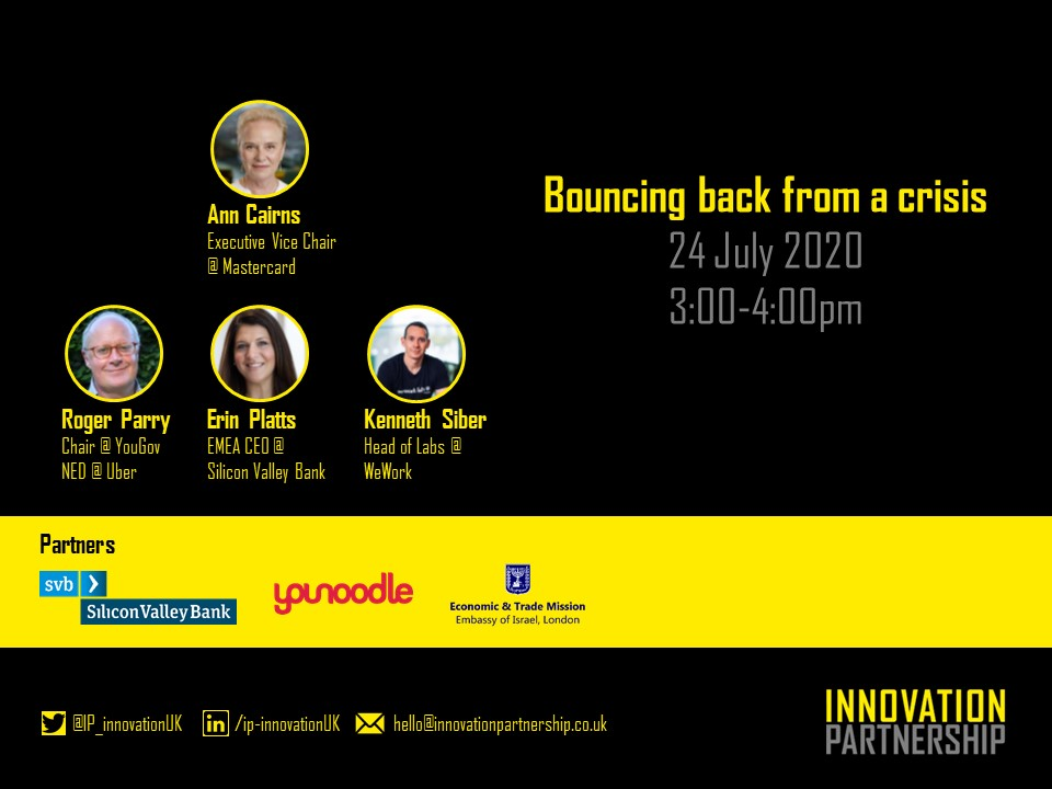 We look forward to our virtual roundtable meeting next week.   Learn more at  https:// lnkd.in/eUhug3W      The meeting is for CxOs of large organisations. If you wish to apply to join please email hello@innovationpartnership.co.uk<br>http://pic.twitter.com/WjUvNUQ1EI