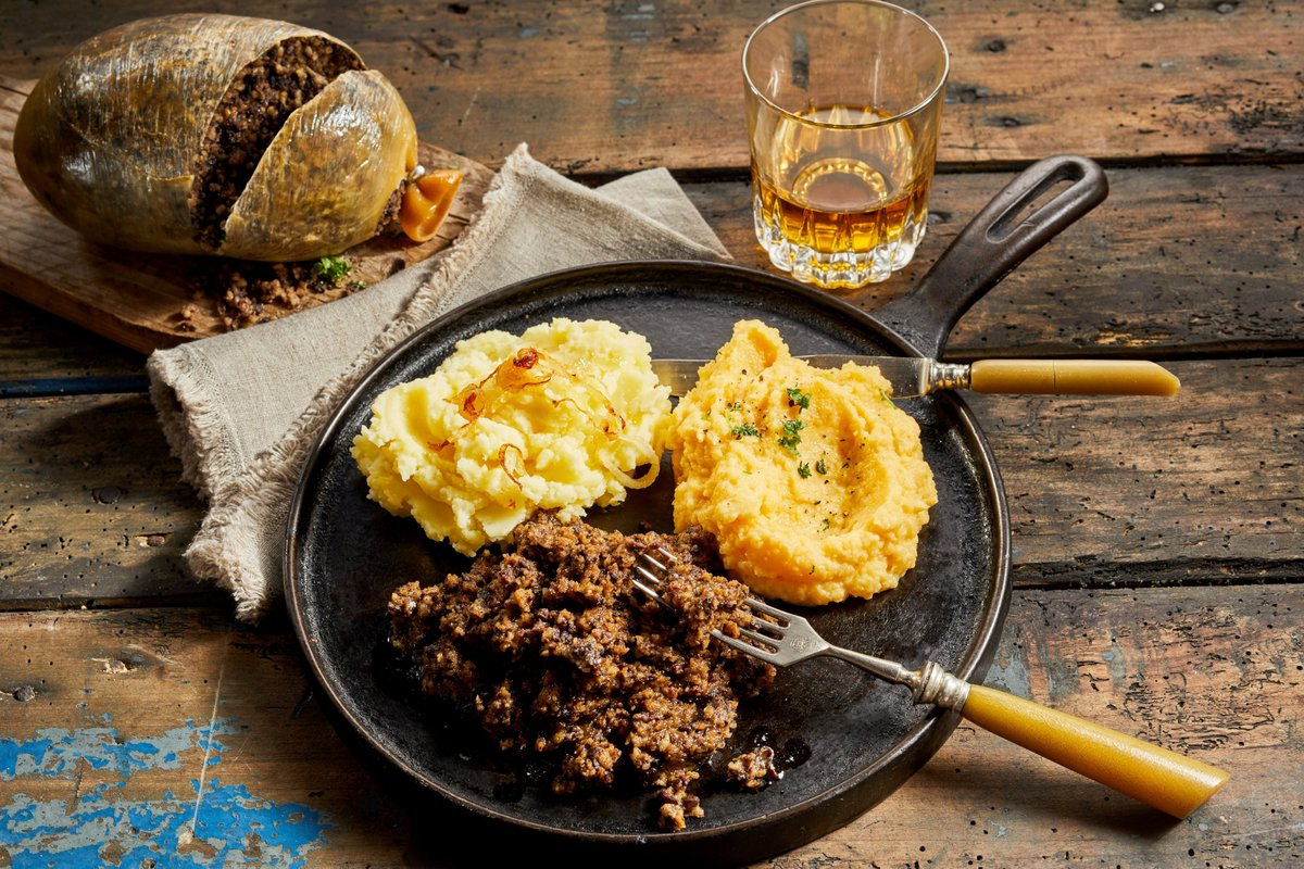 #Haggis is one of those foods where it is best not to look at the ingredients! If you have a strong stomach, our #recipe can be found at