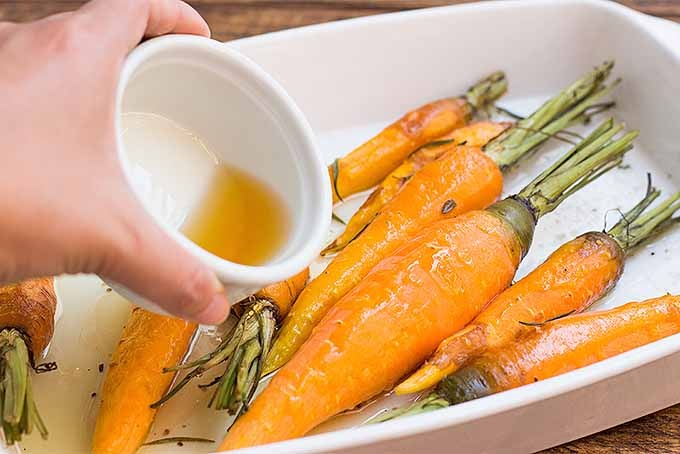 Try our Roasted Rosemary #Carrots with Honey Glaze  #recipe