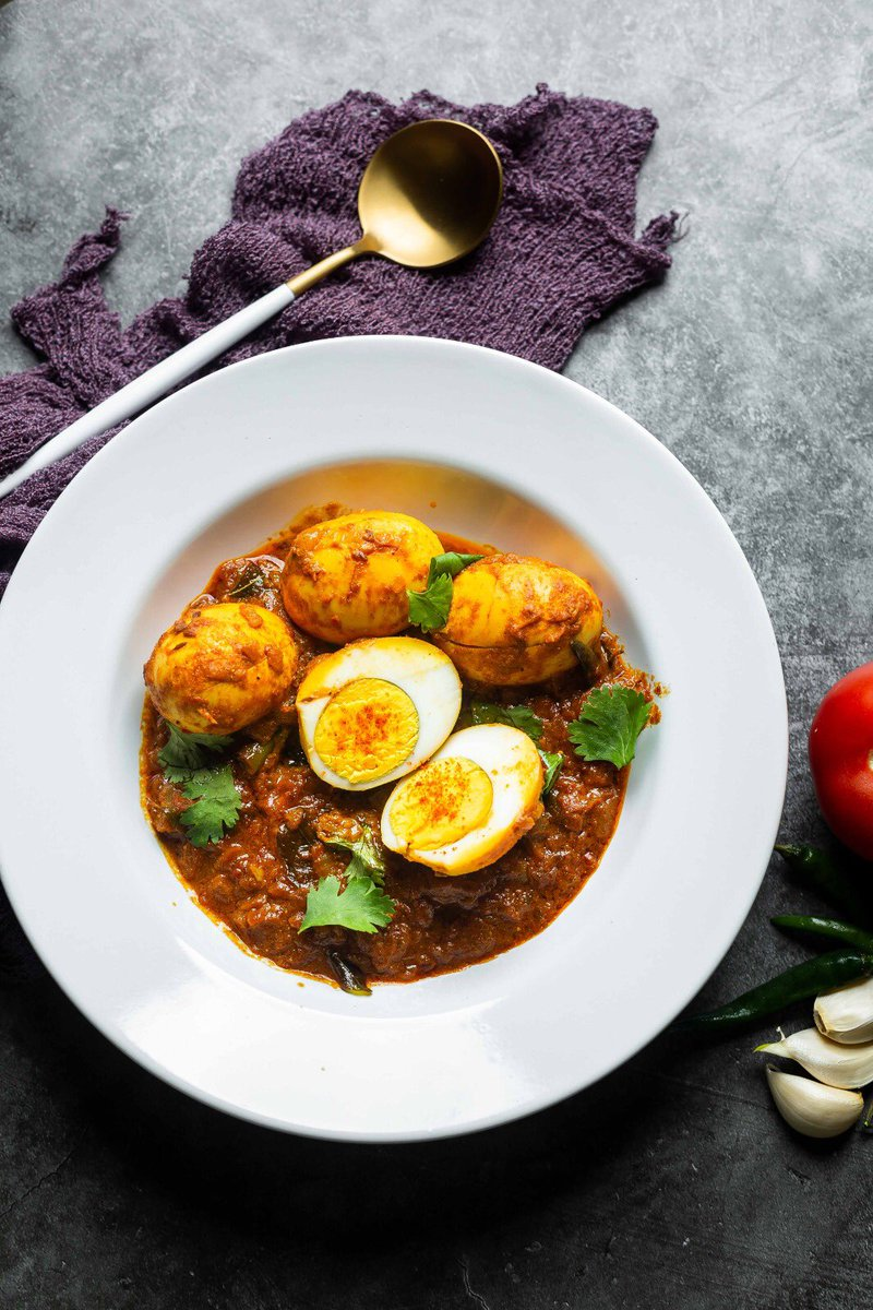Dhaba style egg curry!!  Check below for recipe link   Link :   #recipe #eggcurry #spicy #Foodie #Food