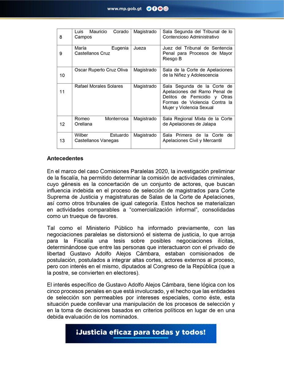 test Twitter Media - URGENTEFECI presenta 13 solicitudes de antejuicio por el Caso Comisiones Paralelas 2020 https://t.co/wtGVus71io