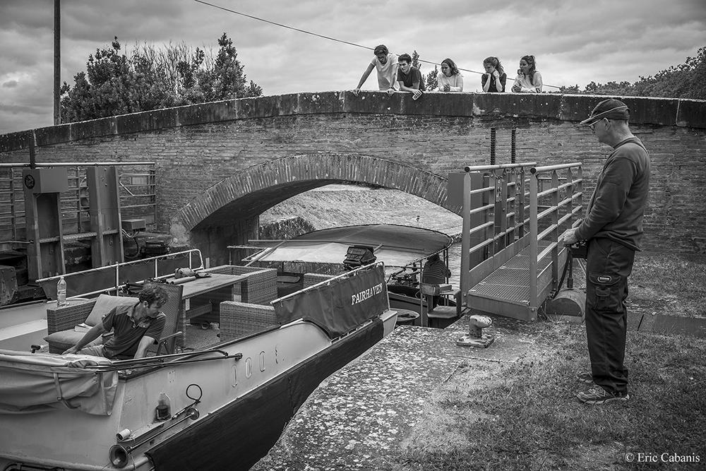 Sanglier lock, #CanalDuMidi #Occitanie today #photography #photographie #blackandwhitephotography #blackandwhitephoto #photo #photooftheday #tourism