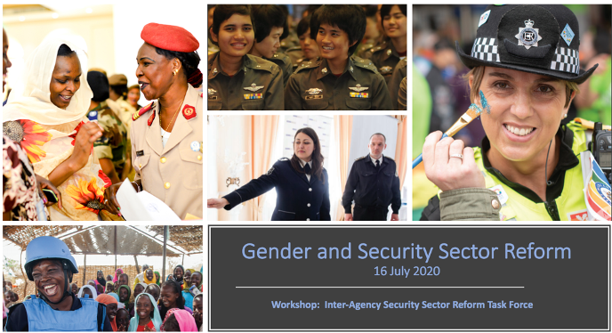 .@UN_OROLSI SSRU & @UN_Women convened an Inter-Agency SSR Task Force workshop on #gender and #SSR in partnership w/ @DCAF_Geneva & @OSCE to discuss new guidance on gender-responsive SSR.  Partnerships are essential for advancing women's participation in the security sector.  #WPS https://t.co/0Cz8FzXGFw
