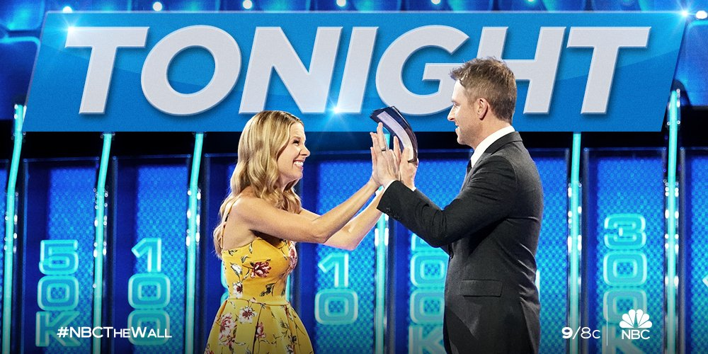 If you missed Alex & Jodie take on #NBCTheWall, catch it again TONIGHT 9/8c on @NBC!
