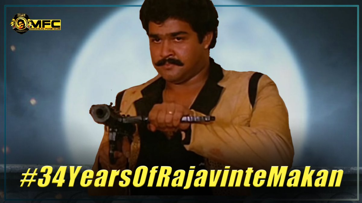 At the tym 1986 he was Just an Actor.  But after 34 years now, he is the Biggest Superstar ever Made in Mollywood.  #34YearsOfRajavinteMakan #Drishyam2 @Mohanlal #34YearsOfRajavinteMakan<br>http://pic.twitter.com/awG69iewdi