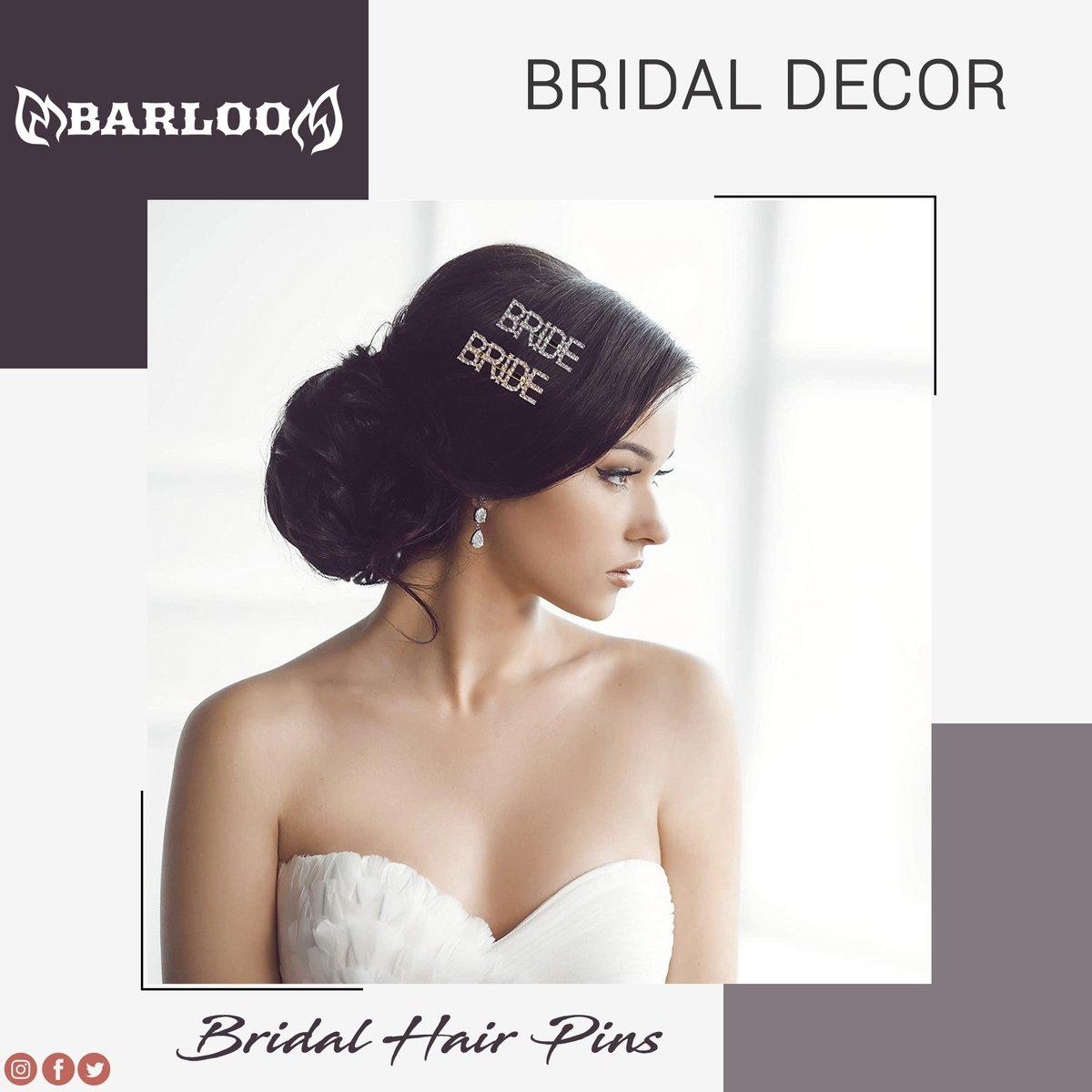 𝐁𝐫𝐢𝐝𝐚𝐥 𝐇𝐚𝐢𝐫 𝐏𝐢𝐧𝐬  SILVER & GOLD RHINESTONE WORD HAIR CLIP ENCHANTING FEEL IDEAL & PERFECT GIFT  Shop now:   Enter promo code for 10% off: 𝟏𝟎𝐂𝐉𝐁𝐙𝐊𝐕  #Barloo #BridalHair #pins #wedding #games #decor #OOTT #OOTD #OTD #fun #hair #StayGold