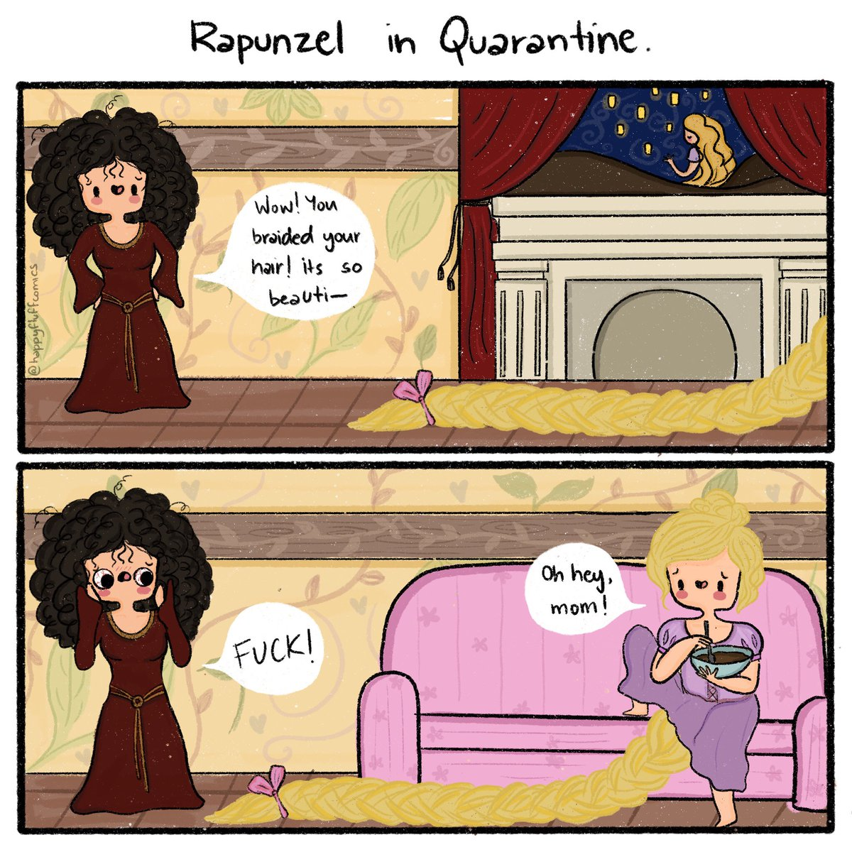 How is #quarantine going for you? #disney  #girlproblems #beauty #me #lol