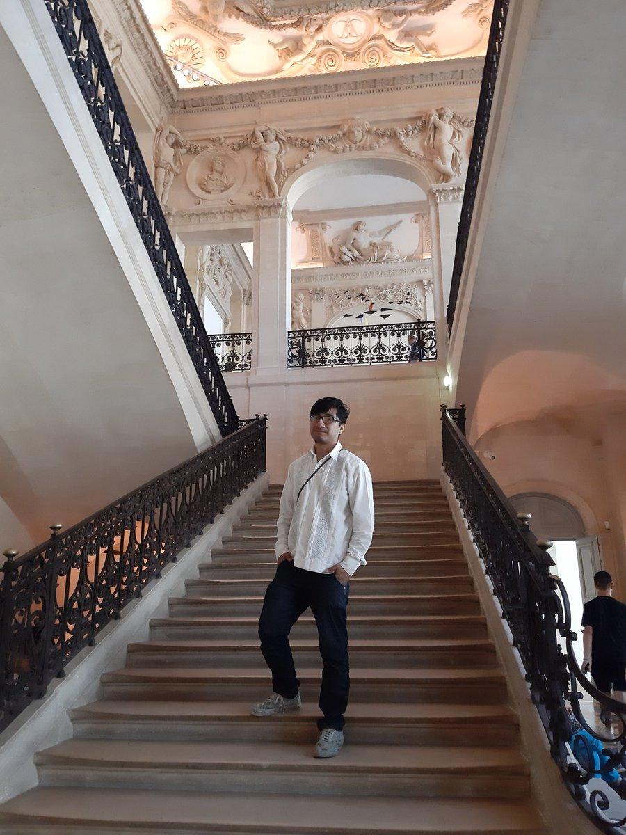 «Nuestro destino de viaje nunca es un lugar, sino una nueva forma de ver las cosas». Henry Miller Hace un año en el museo #Picasso en #Paris.  #travelphotography #travel #Parismonamour #quote