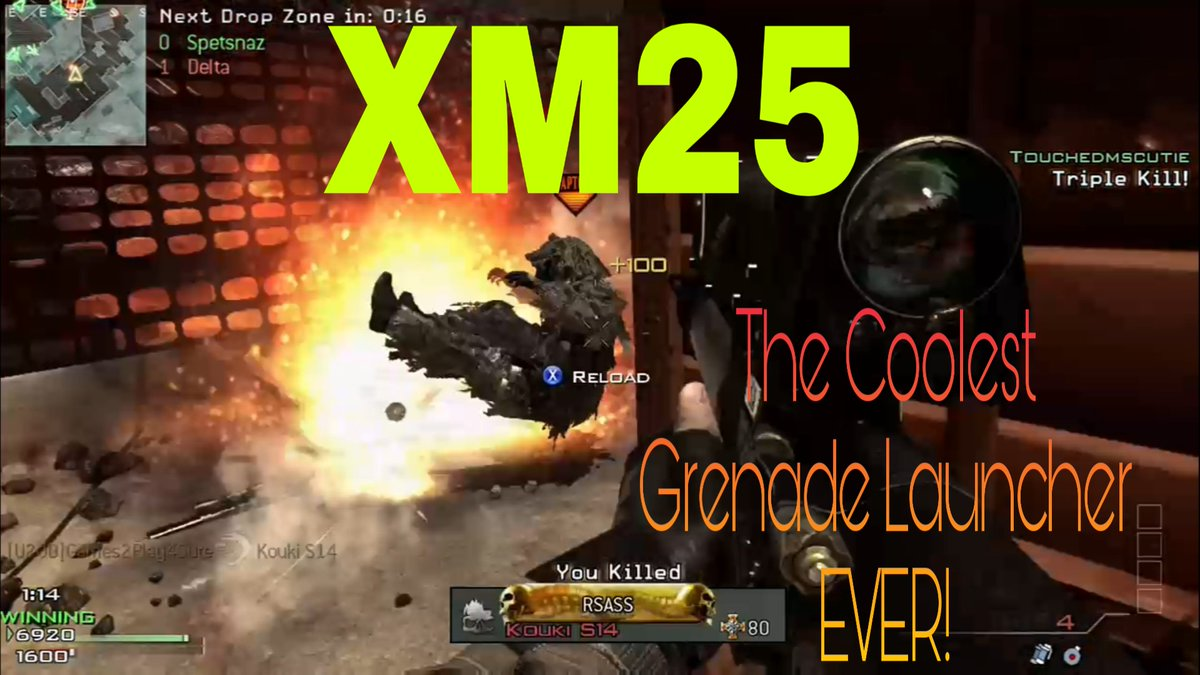 Check out the XM25, the Coolest Grenade Launcher Ever!! ~~~ Watch: https://youtu.be/52K5CesTEr8 #callofduty #mw3pic.twitter.com/UlV9E5no8e