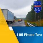 Image for the Tweet beginning: I-85 Widening, Phase 1 &