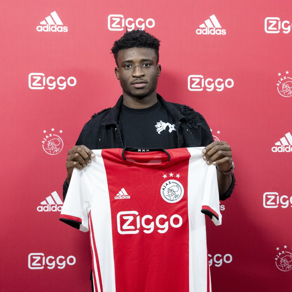 Welcome in Amsterdam, Mohammed! Let's make some new memories together next season! 🇬🇭❌❌❌ #KudusDream #ForTheFuture