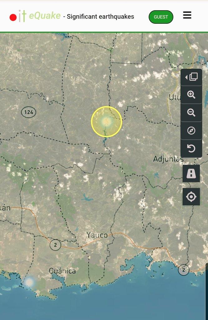 Informe de actividad sísmica para hoy 200716 1120pm, hasta el momento registramos 2 eventos sobre tierra. Uno de ellos poco usual en Barrio Bartolo en @Lares_ , el otro en @GuanicaOficial. En tiempos difíciles estamos #ContigoTodoElCamino @adamonzonpic.twitter.com/FHRdMRsGjx