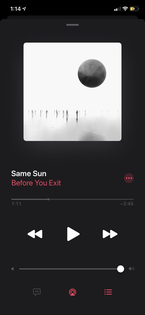Sooo much love for you and this song...I missed you guys xx @beforeyouexit https://t.co/tciTkHgp8S
