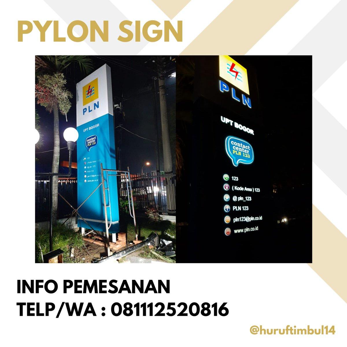 JASA PEMBUATAN TOTEM/PYLON Kami membuat berbagai macam totem/pylon seperti pylon PLN, SPBU, dan lain lain.    Info Hubungi : Tlp/WA: 081112520816/081316140397 Info: Karawaci-Tangerang #totem #pylonsign #totemplnpic.twitter.com/eUBiii3TKy