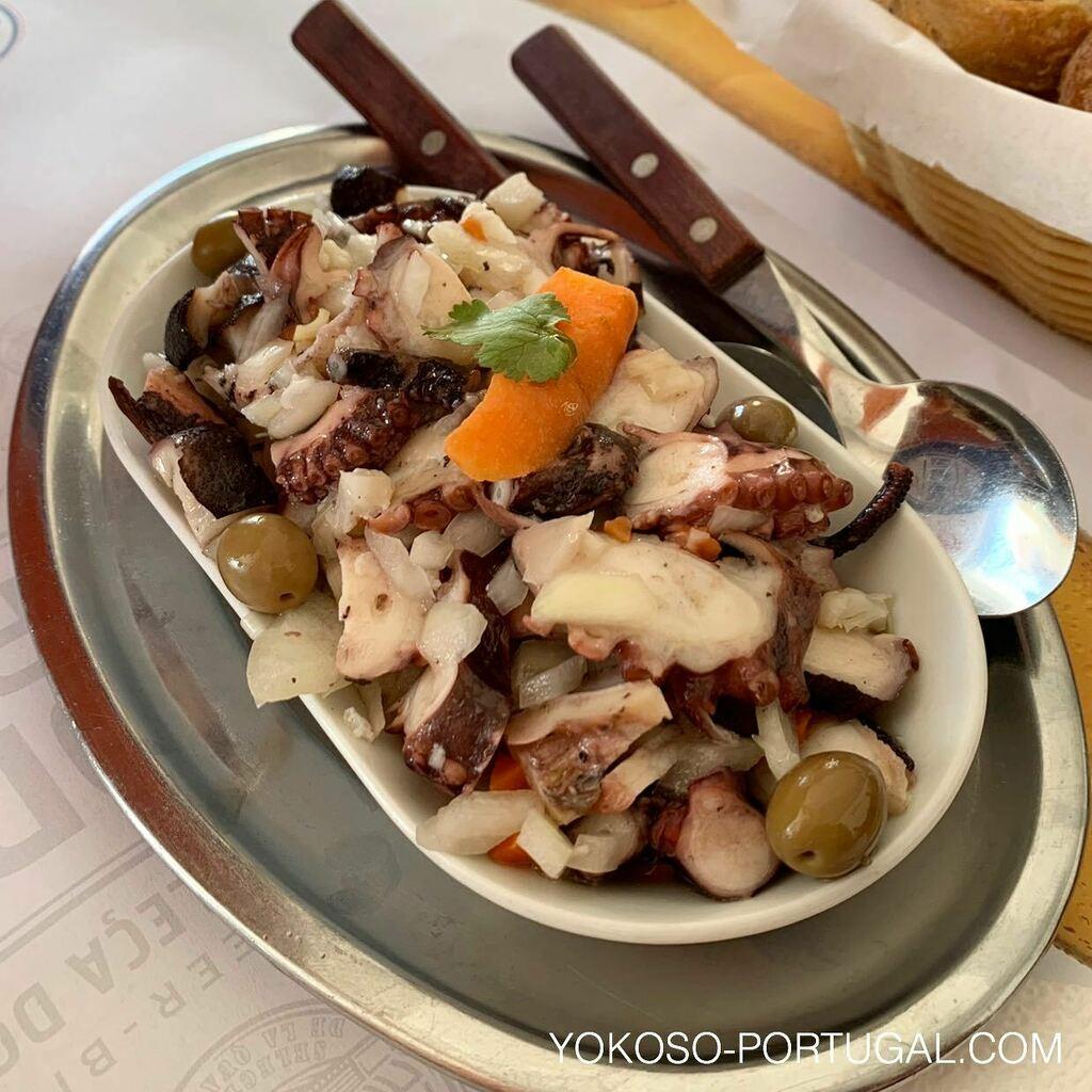 test ツイッターメディア - 前菜の定番、タコサラダ。ワインが進んじゃいます。 #ポルトガル料理 https://t.co/pY94cZMrBR