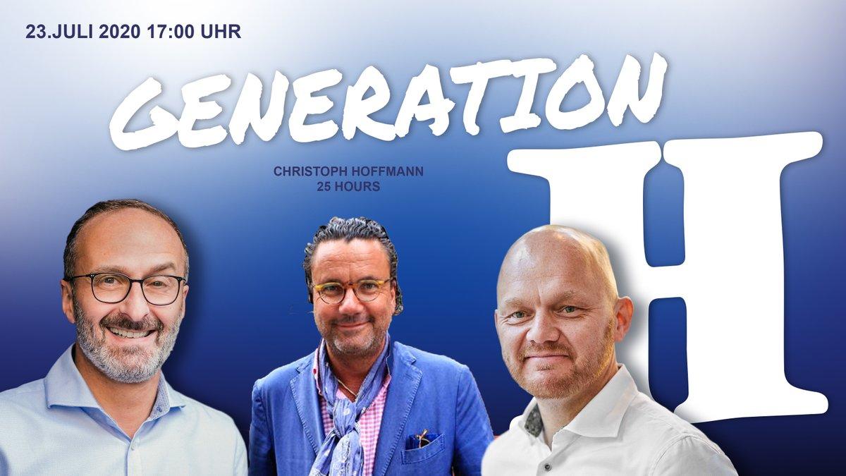 Am kommenden Donnerstag (23.7.2020 um 17h) bei @Generationhote1 begrüßen wir LIVE auf Facebook Christoph Hoffmann, Mitbegründer der @25hourshotels. Wir freuen uns! #generationhotelier #coronarevolution #TXnC https://t.co/DgcHVjxTrM @aobertop #hotellerie #hotel https://t.co/70y4KxMId1