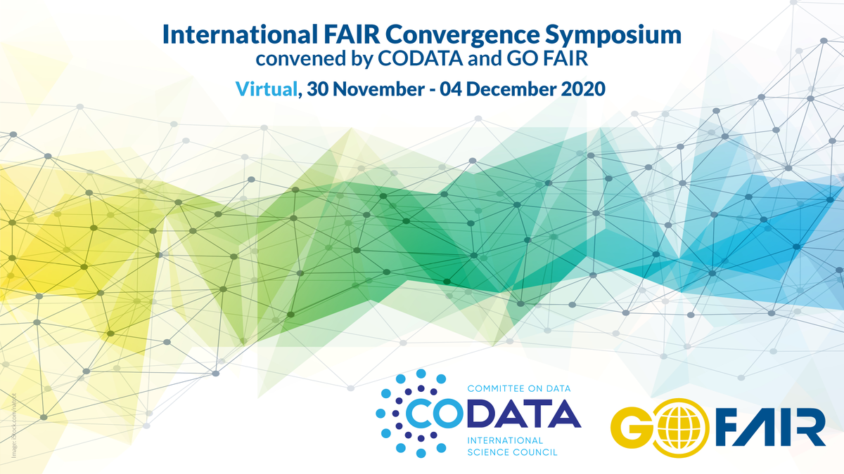 📢 Important update:   Our #FAIRConvergence Symposium will take place on 30/11-04/12 as a fully virtual event.  We extended the deadlines 4 submissions of proposals 👉 for sessions by 30/09 👉 for posters & talks by 31/10  Join us 👇 https://t.co/Shay4fUGWJ  @CODATANews #FAIRdata https://t.co/HZMDEbQrGu