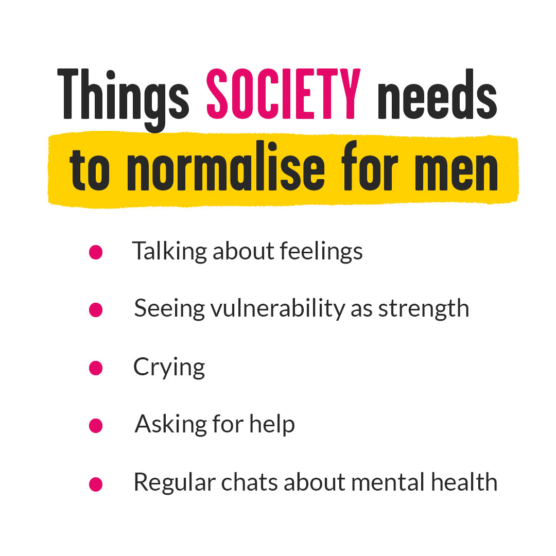 Our perception of masculinity needs to change.