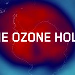 Image for the Tweet beginning: What is the #ozone hole,