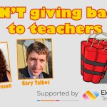 Image for the Tweet beginning: Free webinar for all teachers