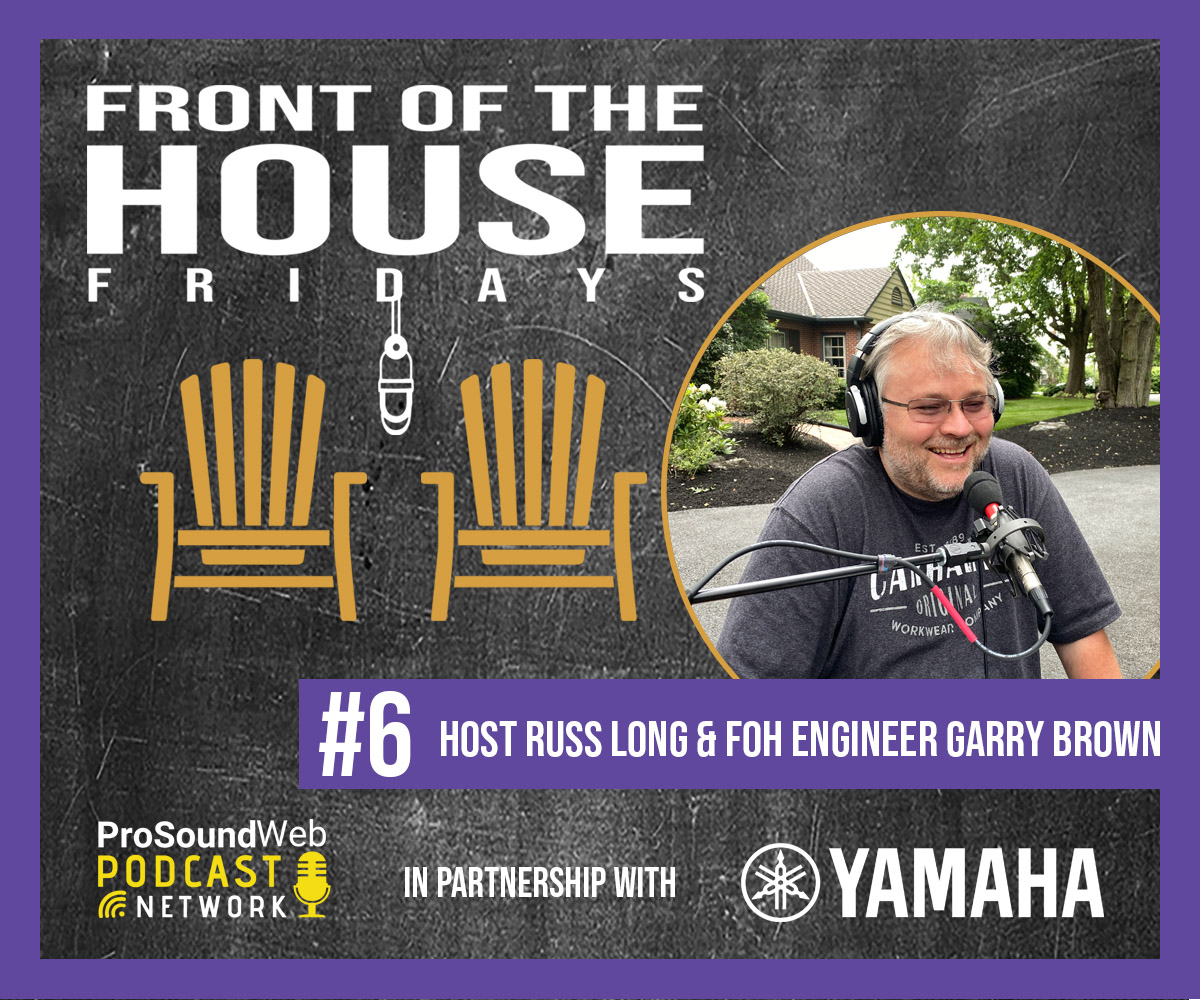 In episode 6, Garry Brown, @Phish's FOH engineer, discusses all things live sound with Russ Long, and shares his unique experiences on the road, along with approaches to live multitrack recording, comparing mixing consoles and more.#yamaha Check it out: https://t.co/mjCu3UzGNp https://t.co/rK0w3WNYCu
