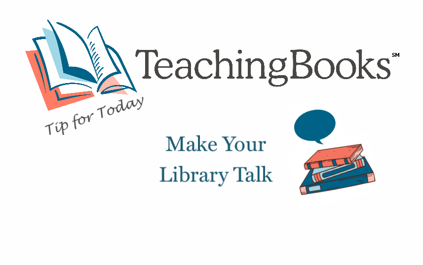test Twitter Media - Make your library or classroom talk as easy as 1-2-3 with TeachingBooks resources https://t.co/EiSo1hoz5r https://t.co/IaroQo9yKE