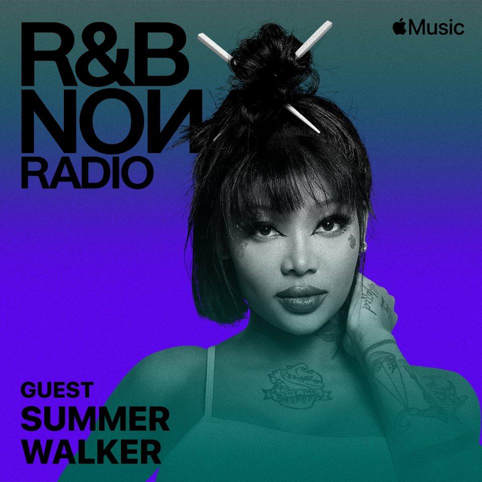 👀 @IAMSUMMERWALKER takeover on RnB Now Radio 11am EST today @AppleMusic apple.co/RnBNowRadio
