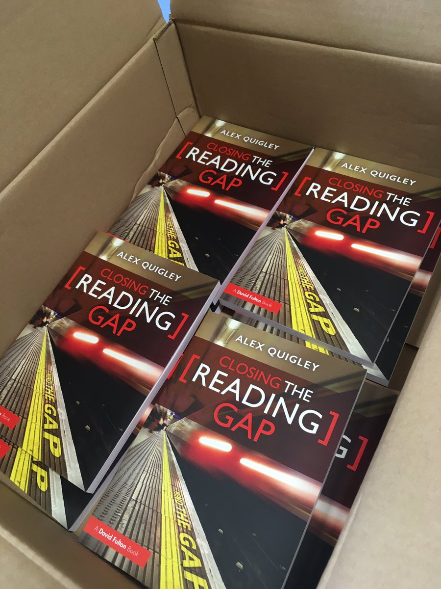 Just arrived today for every department...in time for a bit of summer reading ☀️@HuntingEnglish