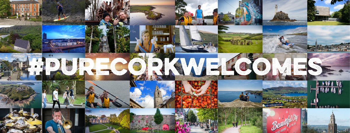 A big shout out to the attractions,accommodation providers and venues who have all promoted each other in the highly successful #PureCorkWelcomes campaign which is on its third week. #ThankYou for sharing the ❤️ https://t.co/IzsF3V2j9Y
