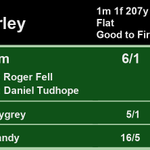 15:40 @Beverley_Races  1st Zihaam 6/1 2nd Highwaygrey 5/1 3rd Ideal Candy 16/5  A Win for @rogerfell22 and @dannytudhope  Full Results here: https://t.co/Ea7Zy24ybH #HorseRacing #Results
