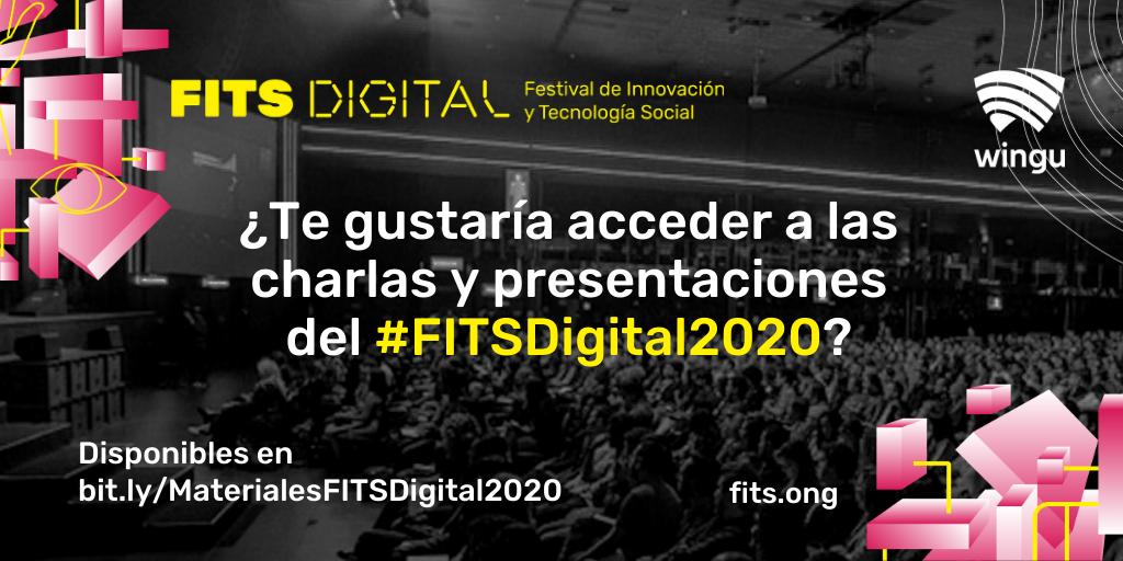 Si participaste del #FITSDigital2020, en tu bandeja de entrada deberías encontrar nuestro correo con los 📚materiales y videos 🎥  Si no participaste y te gustaría acceder a estos contenidos, te invitamos a que los descargues aquí 👉