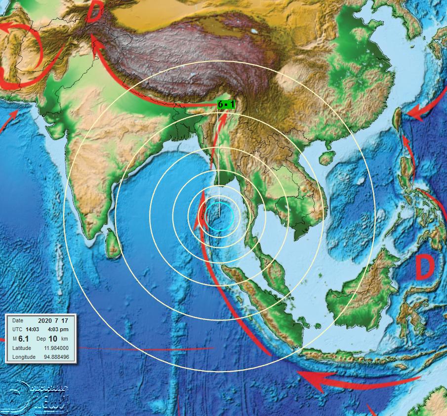 News Burst 18 Luglio 2020 - M6 Andaman