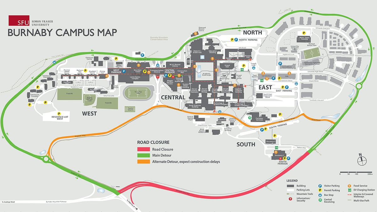 sfu vancouver campus map Simon Fraser University Sfu Twitter sfu vancouver campus map