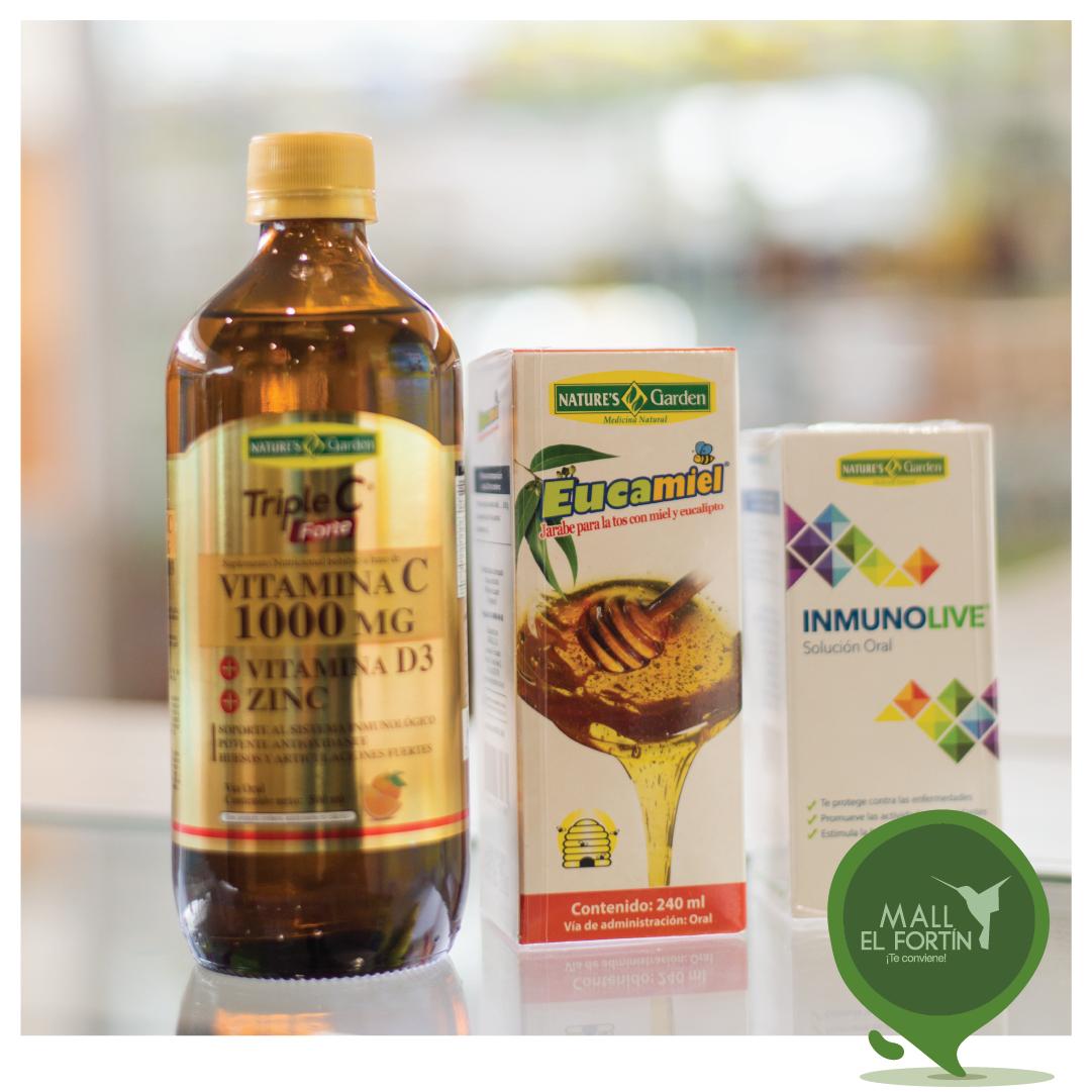 Protege tu sistema inmunológico y fortalécelo con los productos que #NaturaLú tiene para ti. 💪🍃 Visítalos en nuestra planta alta. https://t.co/CCVpMiO1ib