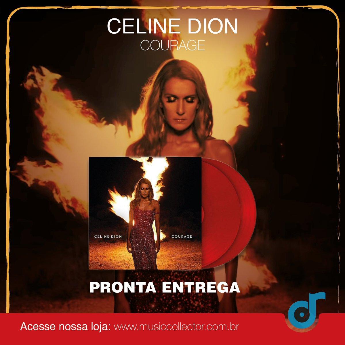 Uma das maiores vozes da música pop, Celine trouxe no seu álbum mais recente, um toque de contemporaneidade.  COURAGE é o que Celine Dion faz de melhor e reafirma que a sua música é atemporal.   À Pronta-Entrega a partir de 31/07.   #celinedion #musicapop #vinil #vinillovers pic.twitter.com/UHk2jKt504