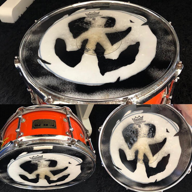 Byron has placed his personal snare drum up for silent auction to help our friends at @Forthenomads, a fundraiser benefitting touring crew members who are affected by the pandemic. Check out all the items at , or place your bid here: