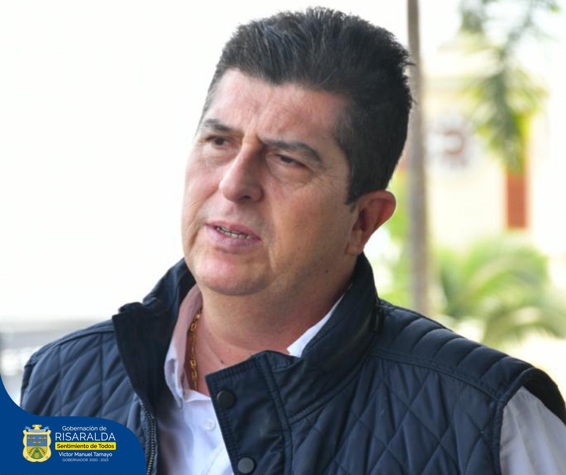 """Ο χρήστης Gobernación de Risaralda στο Twitter: """"El Departamento de  Risaralda reporta con normalidad la evolución de la salud del Gobernador,  Victor Manuel Tamayo Vargas, quien se encuentra aislado domiciliariamente.  También, informa"""