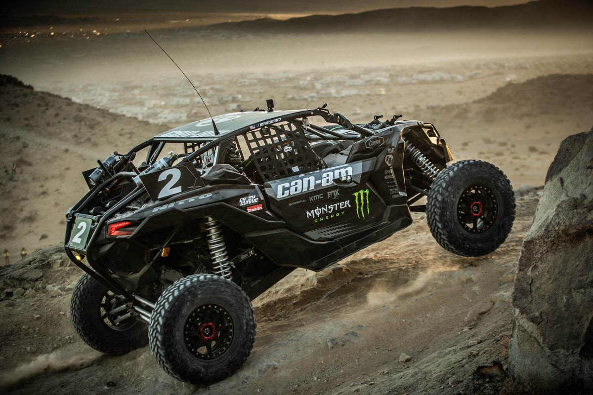 Its #Friday and we are out of here faster than @CaseyCurrie in his @MonsterEnergy @CanAm ripping around on @NittoTire tires! Where are you headed this weekend for some #adventure and #DownTime ? #KOH2020 #UTV #ultra4 #monster #TeamNitto #hammertown PC: The Redline Projects