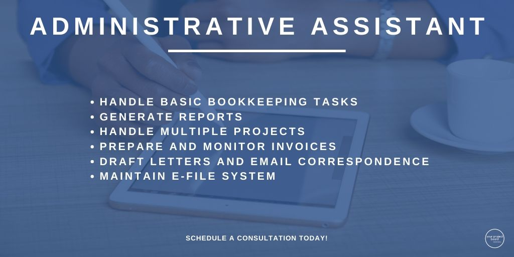 The third position we offer at YPB is Administrative Assistant. Click the link in our bio to schedule your consultation or book an administrative assis... #yourprojectbrd #yourprojectboard #virtualassistant #administrativeassistance #businesshabits #smallbiztips #entrepreneurshippic.twitter.com/Ixu7ElPzpq