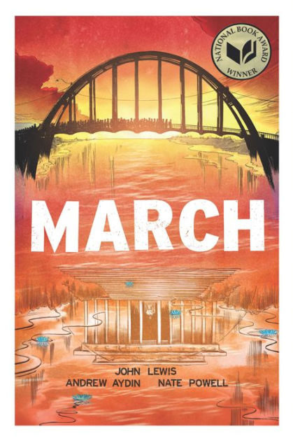 In honor of John Lewis, I am buying and donating March - his autobiographic graphic novel series - to all 3 @campbellusd middle school libraries. Students need to know about the life, courage and impact of this incredible American hero. #ripjohnlewis https://t.co/3YnG0fgIVL