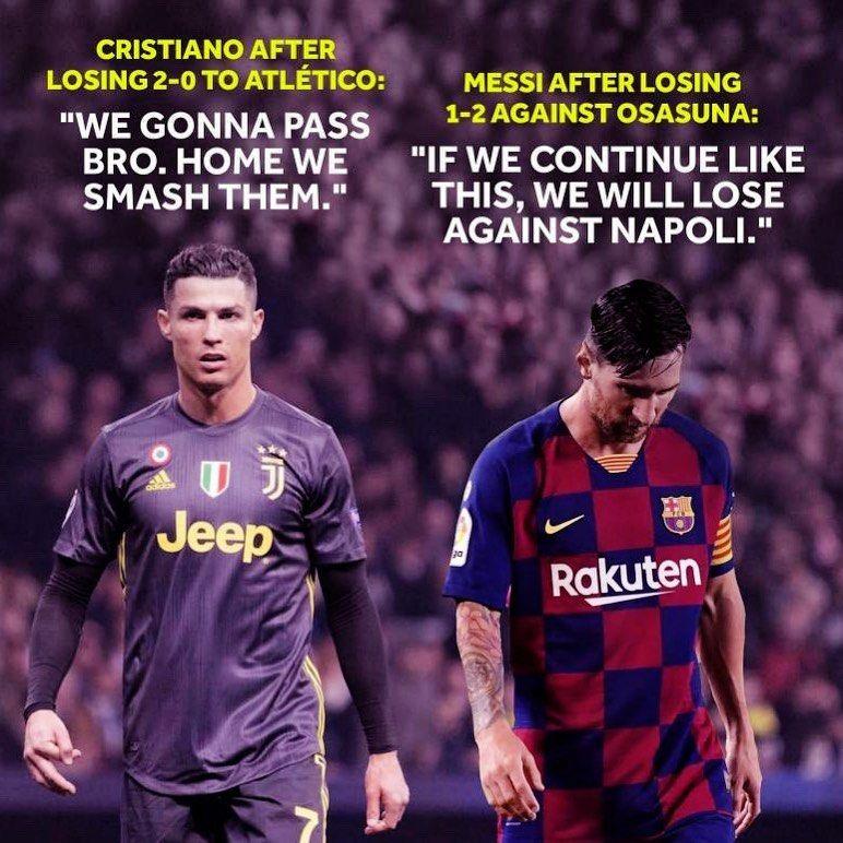 Mentality of Cristiano Ronaldo 💪🐐. https://t.co/DHGtPzn5cq