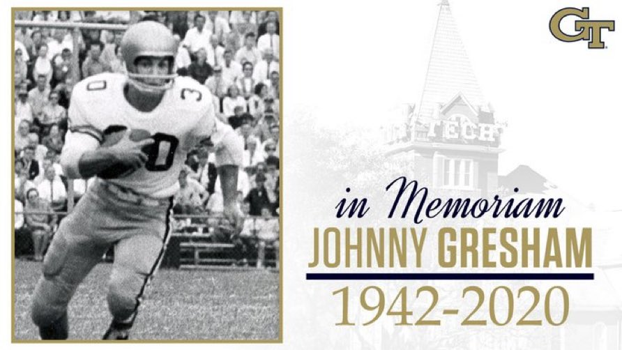 RIP Johnny Gresham...A great man of faith! Always encouraging me through the years with his positivity and kind words. He will be missed! https://t.co/mPc7aIMIjo