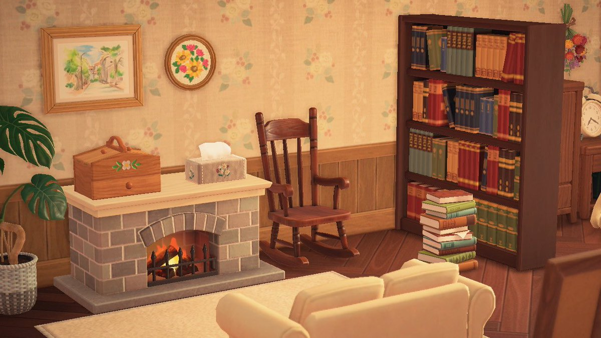 冬になったらこの部屋にこもりたいな🪑#あつまれどうぶつの森 #AnimalClossing