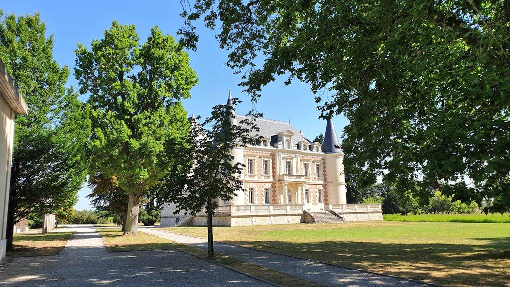 Très belle visite au château lamothe bergeron avec de belles animations sur la conception du vin. #medoc #familytime