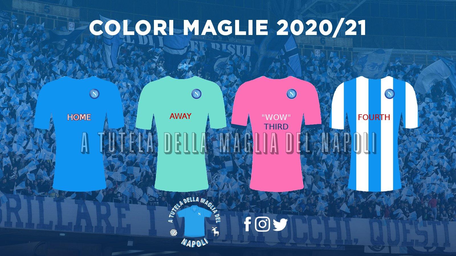 FOTO - Napoli maglie 2020-2021: ecco i possibili colori. Terza ...