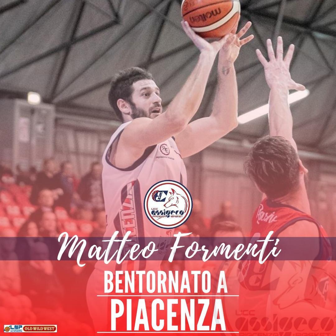 Assigeco Piacenza, ufficiale il ritorno di Matteo Formenti